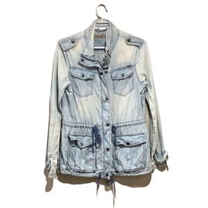 Max Jeans Denim Trench - Women's Size Small